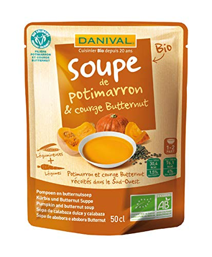 Danival - Soupe Potimarron Courge Butternut 50cl