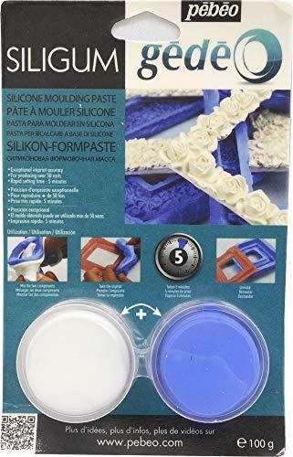 Pébéo Gedeo Siligum - Pasta para modelar silicona (100 g)