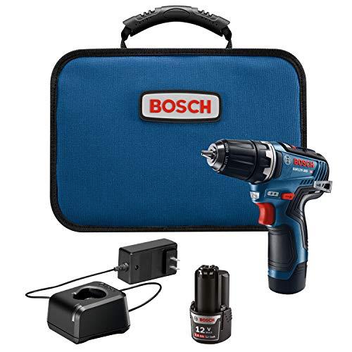 Bosch GSR12V-300B22 12V Max EC Brushless 3/8 Inch Cordless Drill Kit