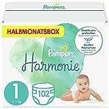 Pampers Baby Windeln Größe 1 (2-5 kg) Harmonie, 102 Stück