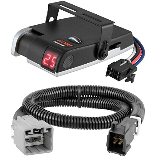 CURT Discovery Brake Controller & Wiring Kit for 2015-2016 Ram 1500, 2500, 3500 - 51457 & 51120