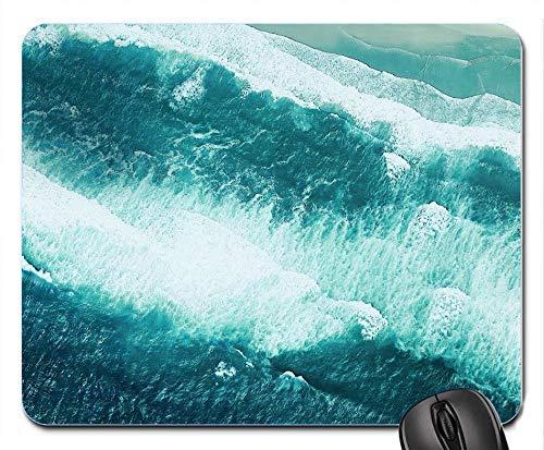 Strand Luftbild Drohne Foto Motorola ein Lager personalisierte benutzerdefinierte Gaming Mousepad Rechteck Maus Matte / Pad Bürozubehör und Geschenk Design