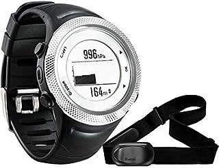 LINGJIA Frecuencia Cardíaca Relojes GPS Sport Watch Bluetooth 4.0 Correa De Pecho + Impermeable Monitor De Frecuencia Cardíaca Calorías Contador Reloj De Fitness Saat Montre Homme