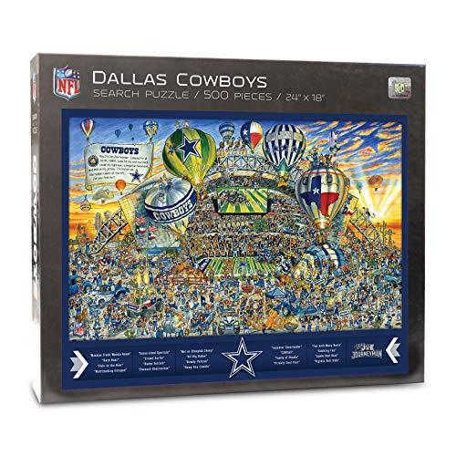 YouTheFan NFL Joe Journeyman 18'' x 24'' 500-Piece Team Puzzle