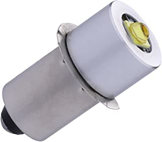 TRLIFE LED Flashlight Bulb DC4-30V, P13.5S PR2 3W Maglite Bulb LED Flashlight Bulb Replacement Part Maglite LED Conversion Kit for 3-20 C&D Cells Maglite Flashlights Torch