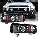 For Dodge Ram 1500/2500/3500 Pickup Black Dual...