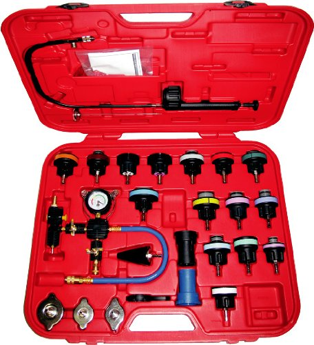 PMD Products 27pc Master Cooling Radiator Pressure Tester with Vacuum Purge and Refill Kit