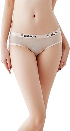 f3a02a510a66 Saitingdianzi Women Sexy Lace Splice Perspective Underwear Mesh Briefs  Panties Lingerie Soft Comfy Underwear