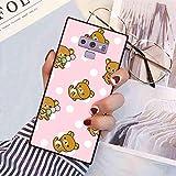 Galaxy Note 9 Phone Case (2018) (6.4 Inch) Animals Bear Rilakkuma