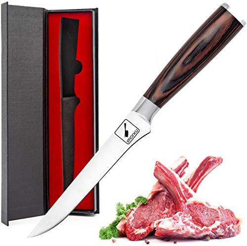 Imarku Cuchillo para Deshuesar. Cuchillo Cocinero...
