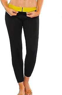 Fabriqu/és en Italie. TESPOL Leggings Noir Femme Classiques Amincissants Push-up Technologie Seamless