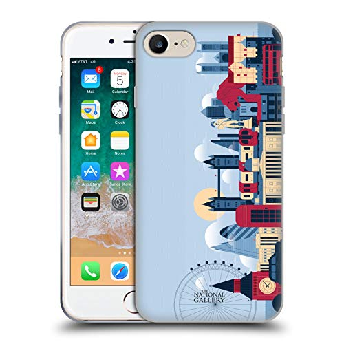 Head Case Designs Licenciado Oficialmente The National Gallery Horizonte de Londres Arte Carcasa de Gel de Silicona Compatible con Apple iPhone 7 / iPhone 8 / iPhone SE 2020