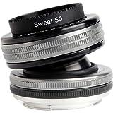 Lensbaby LBCP35C Obiettivo Composer Pro con Sweet 35 per Canon, Nero