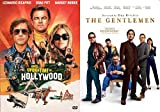 Absolute Total Gents With The Old Timers: The Gentleman + Once Upon A Time In Hollywood 2 DVD Guy Ritchie Tarintino Bundle