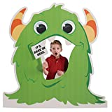 4 ft. 7 in. Monsters Photo Op Standee Standup Photo Booth Prop Background Backdrop Party Decoration Decor Scene Setter Cardboard Cutout