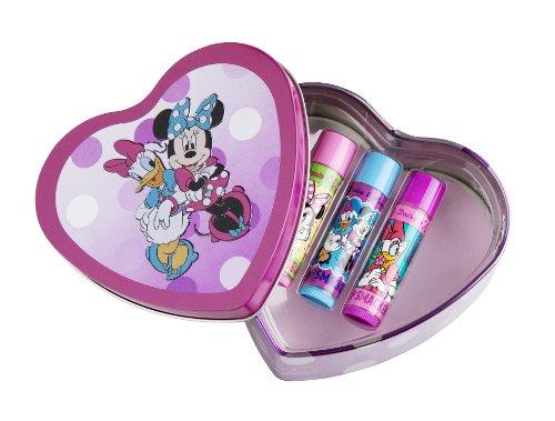 Lip Smacker Coffret 3 Baume à Lèvres Disney Minnie et Daisy