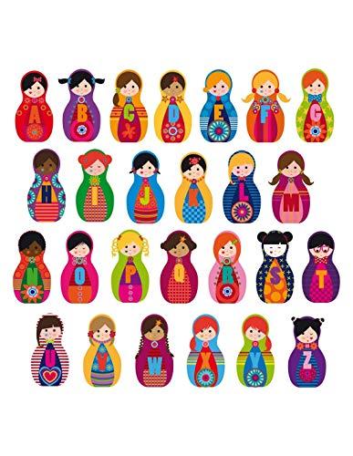 Sticker ABCDAIRE Poupées Russes - Format : 110 x 45 cm