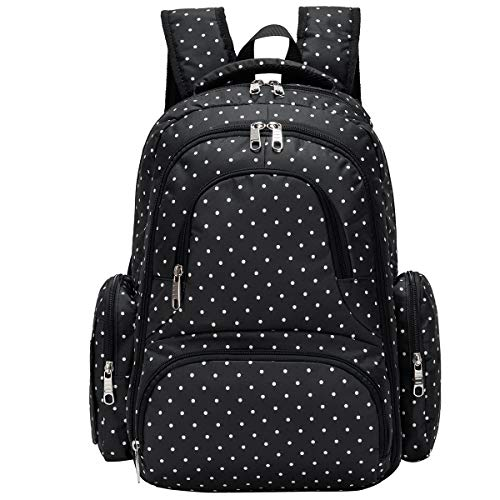 Product Image of the Cateep Waterproof Travel Diaper Backpack with Changing Pad and Stroller Clips