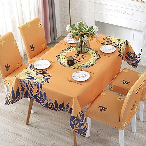 Couchtisch Tischdecke im nordischen Stil,Retro-Baumwolltischdecke im ethnischen Stil,Moderne minimalistische rechteckige Tischdecke mit Quaste 130X180cm
