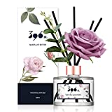 396 st. Flower Reed Diffuser, Vanilla Lavender(Also Known as Garden Lavender), 200ml(6.7oz) / Reed Diffuser Sets, Aroma Therapy, Home & Kitchen Décor