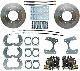 Rear End Disc Brake Kit, Fits 9 in. Ford Truck