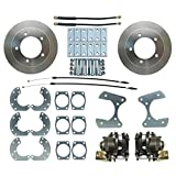 Speedway Motors Rear Drum to Disc Brakes Conversion Kit, Rear Disc Brake Conversion Kit for Ford, Fits 9 in. Ford Truck
