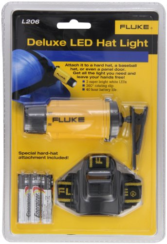 Fluke L206 Deluxe White LED Hat Light