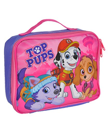 Paw Patrol Soft Lunch Box (Top Pups Purple)