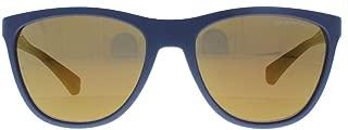 EA4053 53686H Navy Cateye Sunglasses
