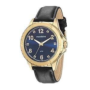 Relógio Mondaine, Masculino, Dourado