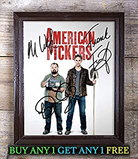 American Pickers Cast Autographed Signed 8x10 Photo Reprint #75 Special Unique Gifts Ideas Him Her Best Friends Birthday Christmas Xmas Valentines Anniversary Fathers Mothers Day