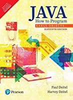 Java How To Program, Early Objects, 11Th Edition [Paperback] Deitel