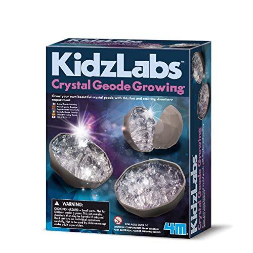 4M Geode wachsender Kristall.