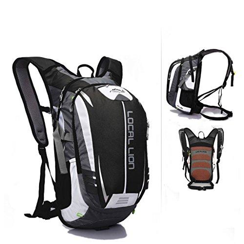SINCERE@ Outdoor équitation sac à dos d'hydratation sac à dos petits respirants légers sacs sac de sport d'alpinisme (Black)