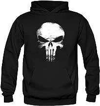 SL Schwarz L Hoodie f/ür M/änner und Frauen f/ür Spiderman Punisher 3D Digitaldruck Beil/äufige Lose Jacke /Übersteigt Sweatshirts