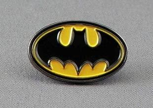 Metal Enamel Pin Badge Brooch Batman Night Call Sign Bat Logo Motif