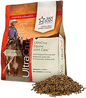UltraCruz Equine Joint Supplement for Horses, 4 lb, Pellet (35 Day Supply)