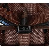 RVTYR for Ford Focus F-150 Mustang Explorateur Kuga ecosportcar Mondeo Fiesta, Tapis de Sol de Voiture personnalisée Accessoires Auto Tapis Voiture (Color : Coffee)