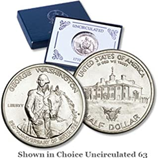 1982 Various Mint Marks Modern Commemorative $1 Uncirculated US Mint 1983 George Washington Commemorative Half Dollar Uncirculated