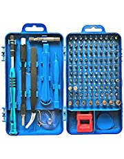 110 in 1 Screwdriver Set Mini Electric Precision Screwdriver for Iphone Huawei Tablet Ipad laptop Mobile phone Home tool set - Blue