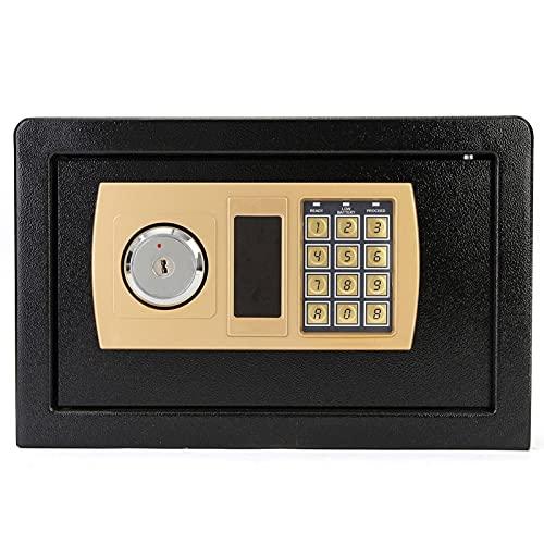310x200x200mm Caja de Seguridad Digital para Prueba de Fuego Caja Secreta de Seguridad Ideal Contraseña electrónica Seguro para Caja Fuerte de Oro