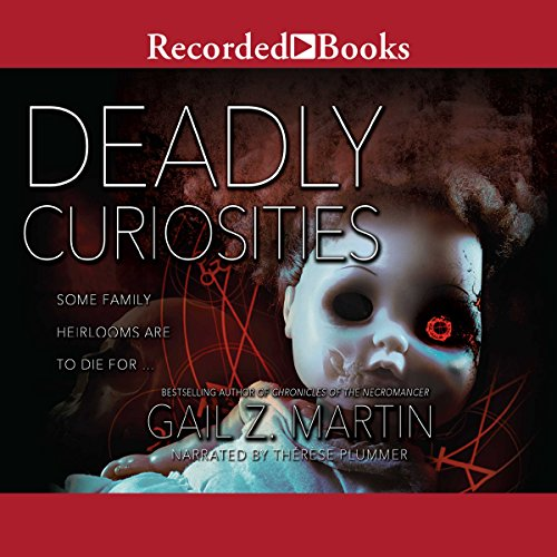 Deadly Curiosities audiobook cover art