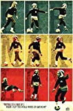 The Poster Corp Bob Marley - Football/Soccer Collage