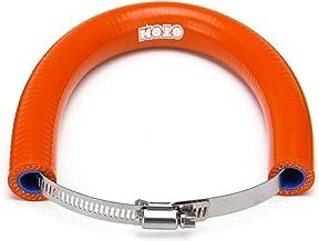GOZAR El Protector Universal del Silenciador del Extractor De La Motocicleta Puede Cubrir El Protector para KTM Exc Sxf 250-525 - Naranja