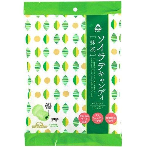 サンコー ソイラテキャンディ・抹茶 60g