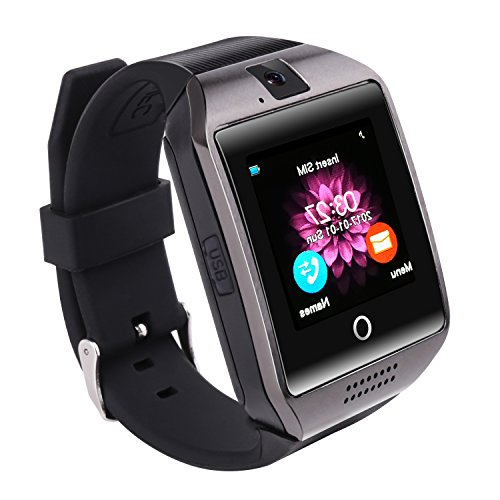 Reloj inteligente Bluetooth, SAINKO Smartwatch Smart reloj de pulsera Fitness Tracker (Q18)