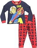 Sam le Pompier - Ensemble De Pyjama - Fireman Sam - Garçon, Multicolore, 4 - 5 Ans