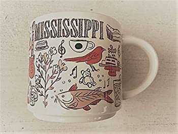 Starbucks MISSISSIPPI BEEN THERE SERIES ACROSS THE GLOBE COLLECTION Ceramic Coffee Mug