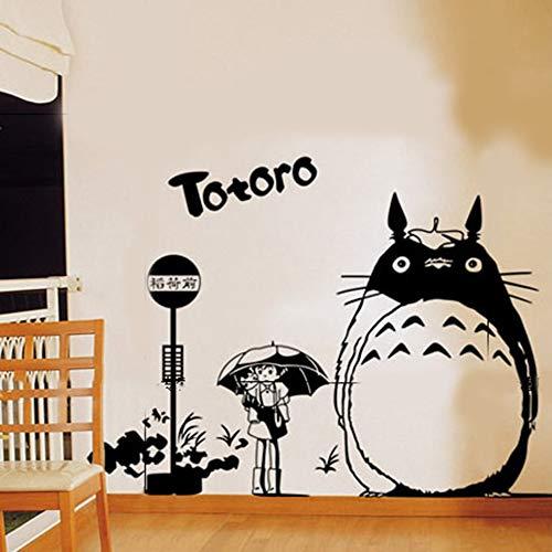 Wandaufkleber Kinderzimmer Wandtattoo Wohnzimmer Totoro Aufkleber Japanische Cartoon Totoro Wandaufkleber Aufkleber Wanddekoration Dekoration Totoro