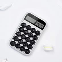 $55 » LBCRYDZ Mechanical Keyboard Electronic Arithmetic Calculator,Office Examination Supplies (Color : White)